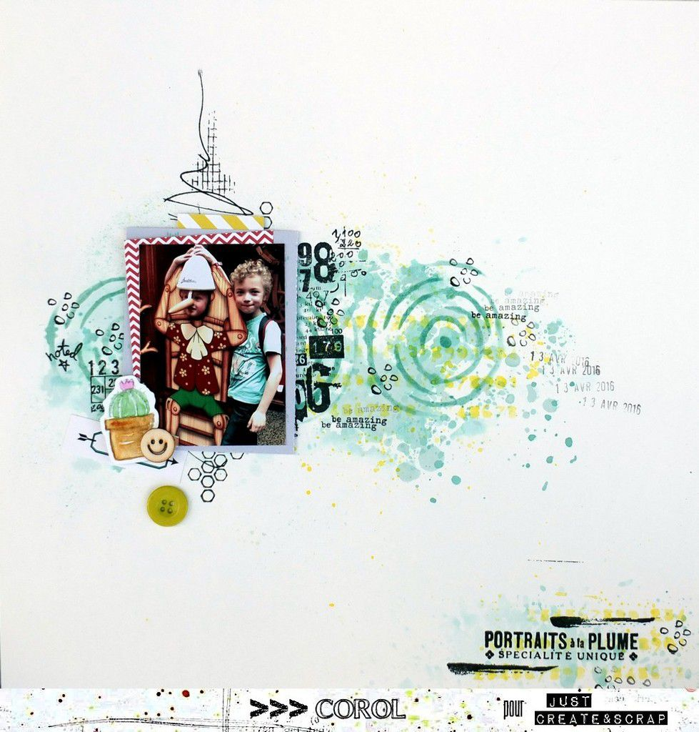 2 réas pour Just Create &amp&#x3B; Scrap