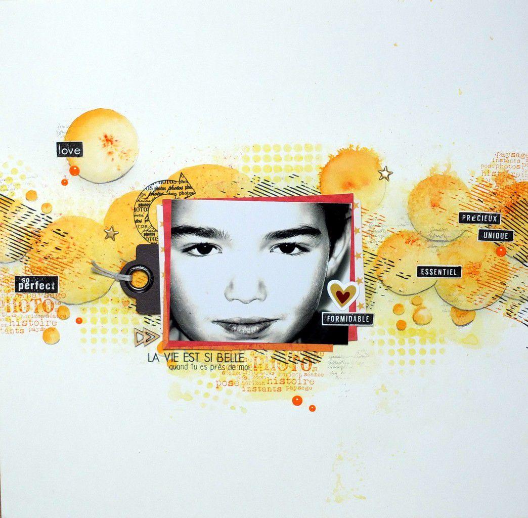 Défi Couleurs &amp&#x3B; Textures À l'origine, il y a un fond blanc ...