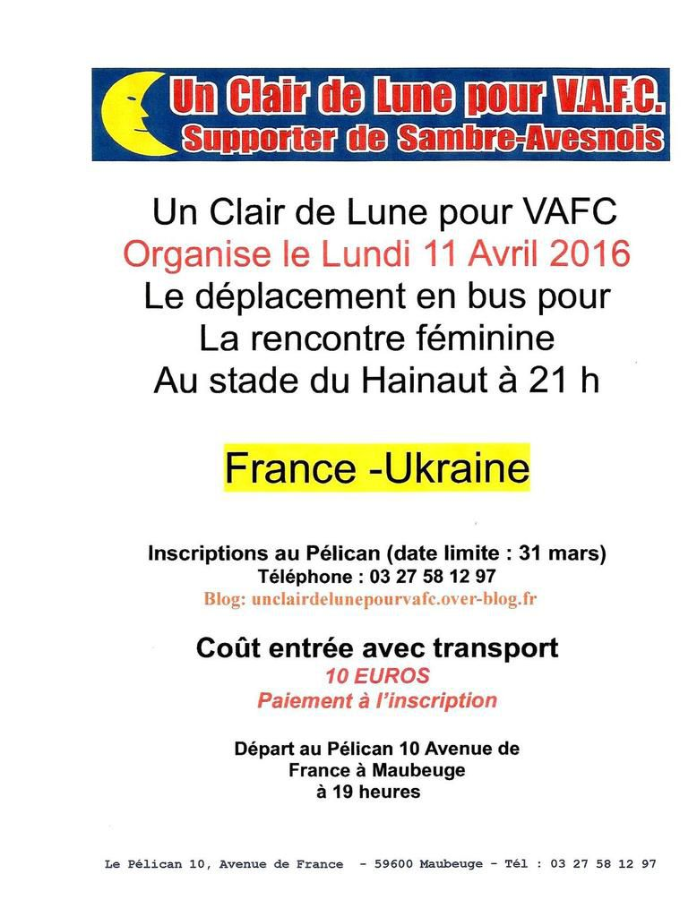 Rencontre france ukraine