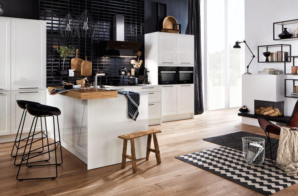 suggestion de cuisines sur mesure fa ade blanche meubles biblioth ques cuisines hacker la. Black Bedroom Furniture Sets. Home Design Ideas