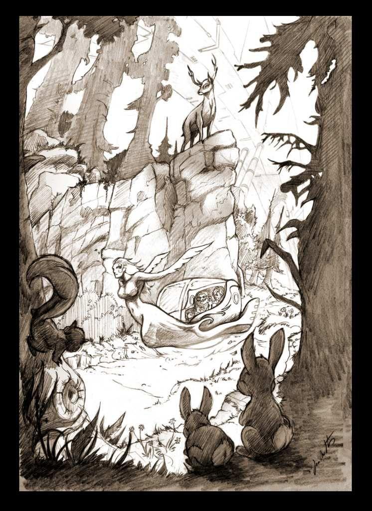 Illustration pour le chapitre 11 du Simulacre Tome 3
