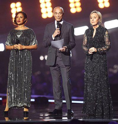 Andrew Ridgeley, avec Pepsi et Shirley (Wham!) - Brits 2017