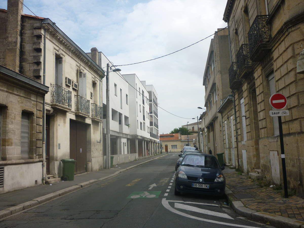 Projet de mise en place d'un plan de circulation dans le secteur de Bordeaux compris entre la route de Toulouse et le boulevard Albert 1er