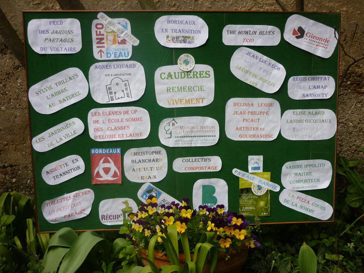 Notre  Bourse aux Plantes du 3 avril a rassemblé plus de 850 visiteurs...