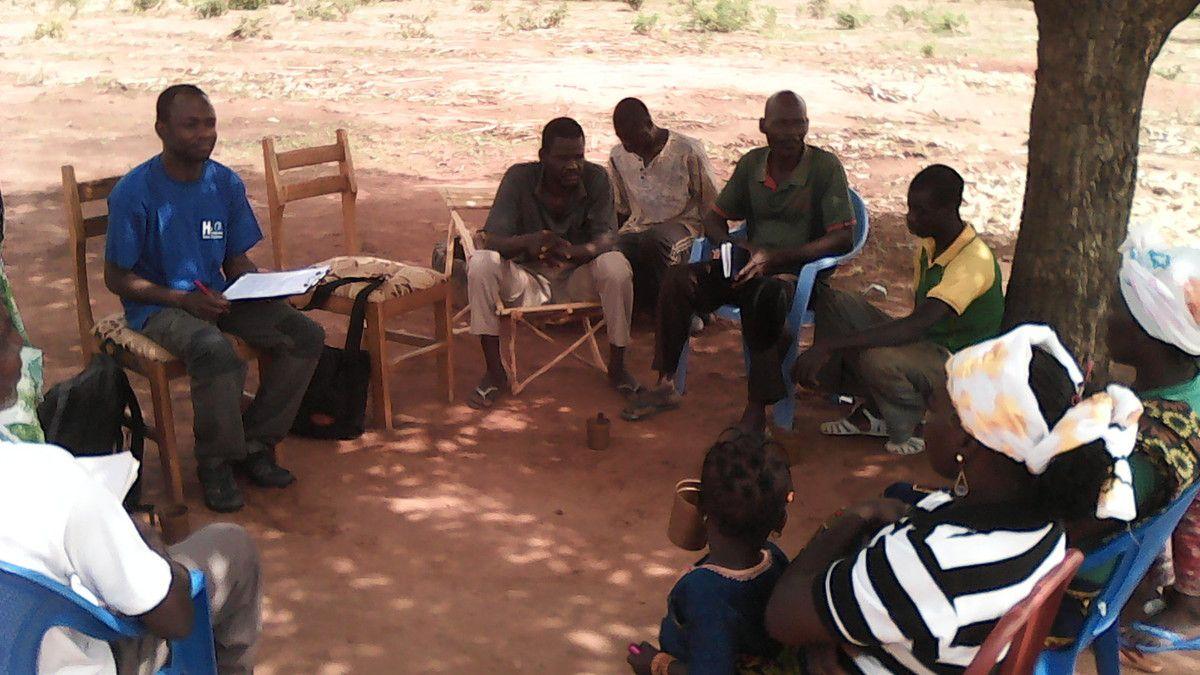 Visite de Youssouf Abdelsadick, représentant de HSF France au projet Wurodinisso Juin 2016