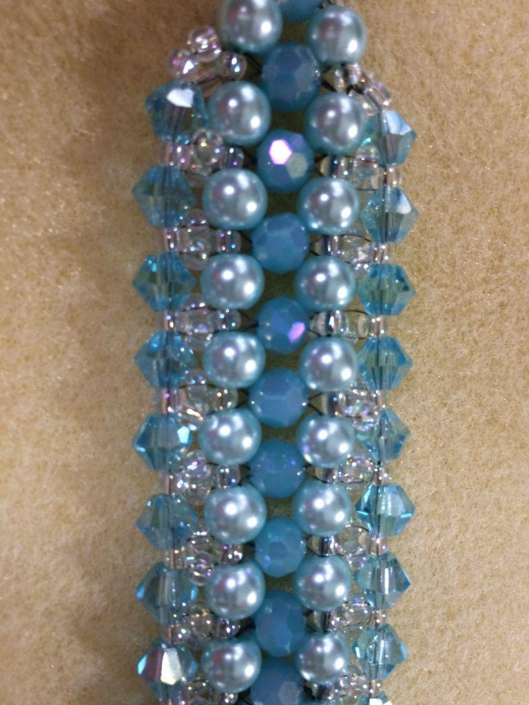 Bracelet thème bleu