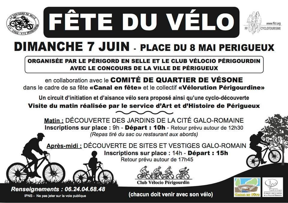 Fête du vélo, le 7 juin