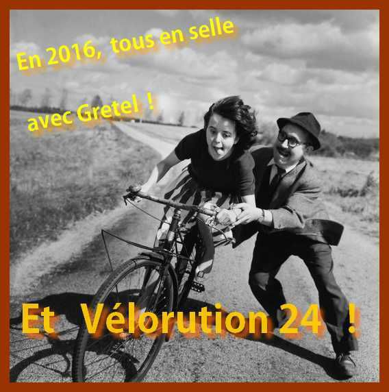 Vélorution 24 , version 2016 !