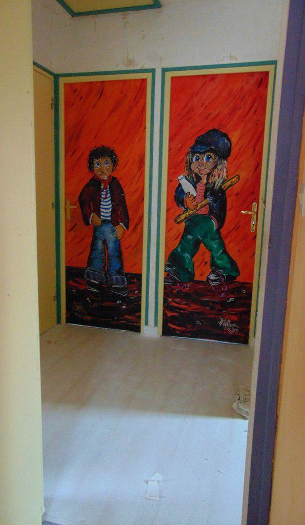 portes pour chambres d'enfants