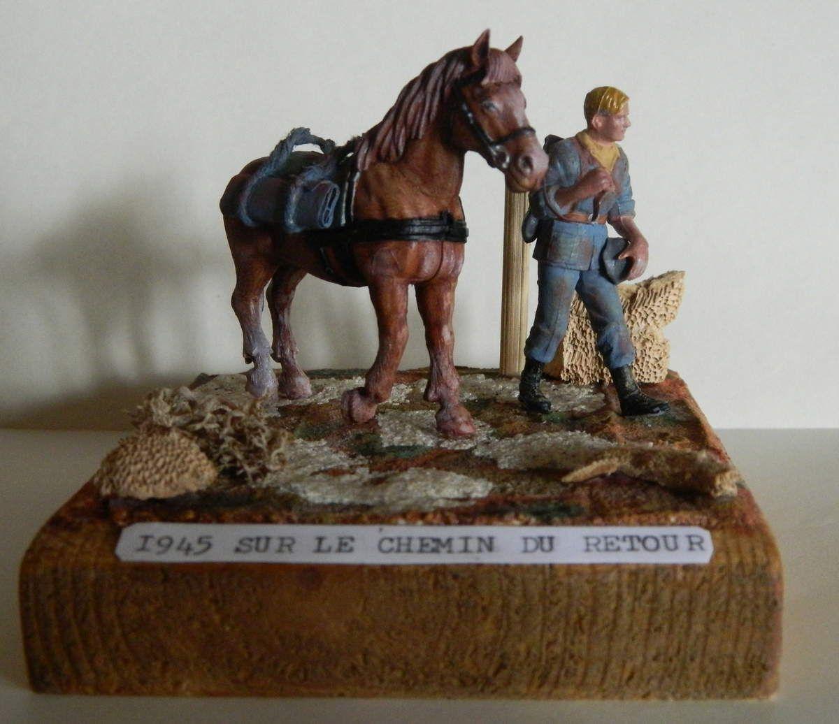 Dioramas militaires scénettes 1/35ème