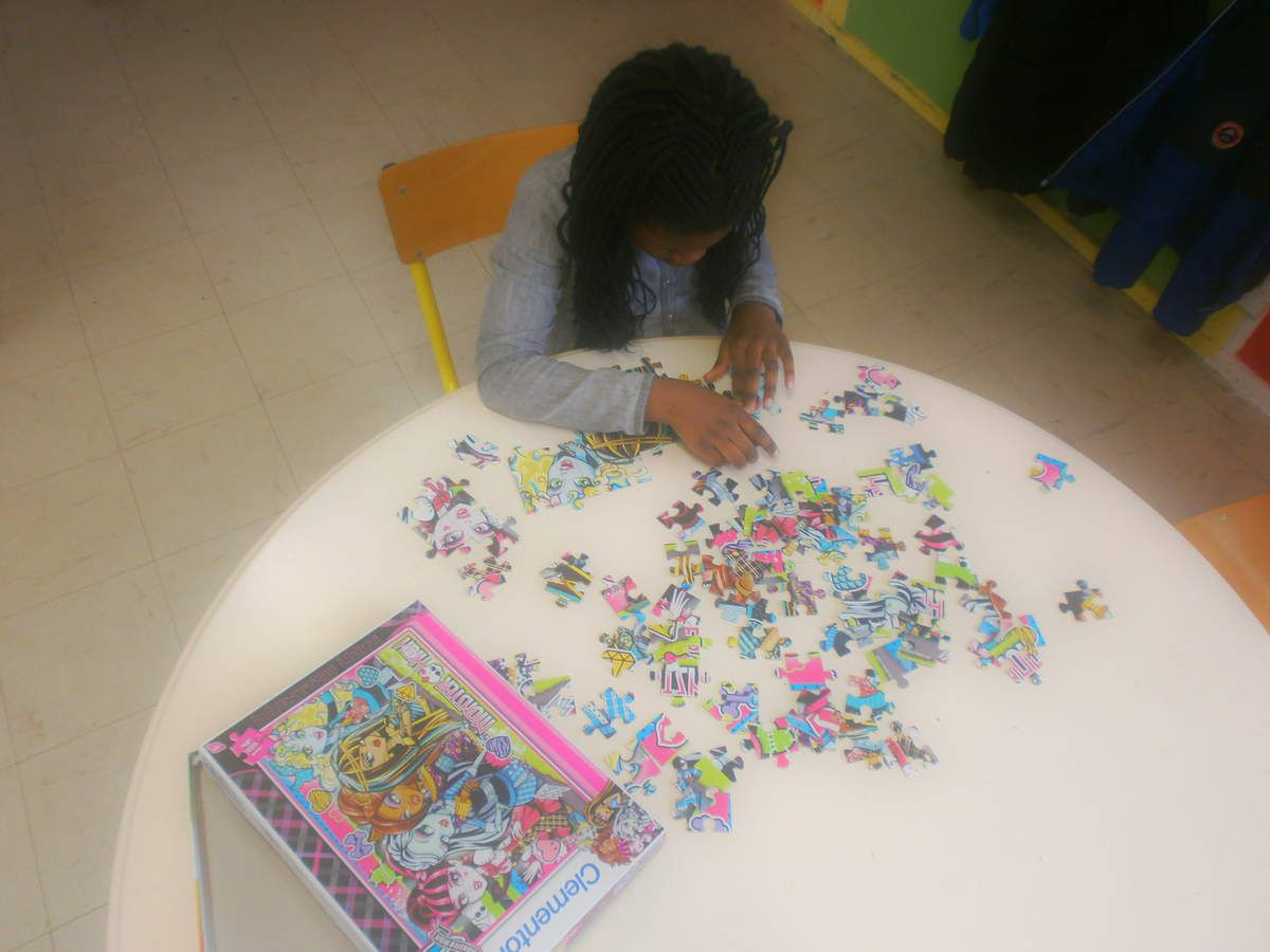 Espace jeux de société, puzzles