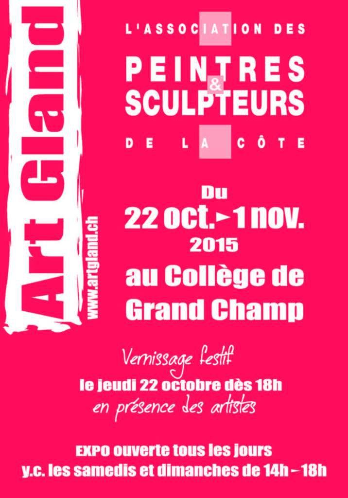 Exposition Artgland 2015