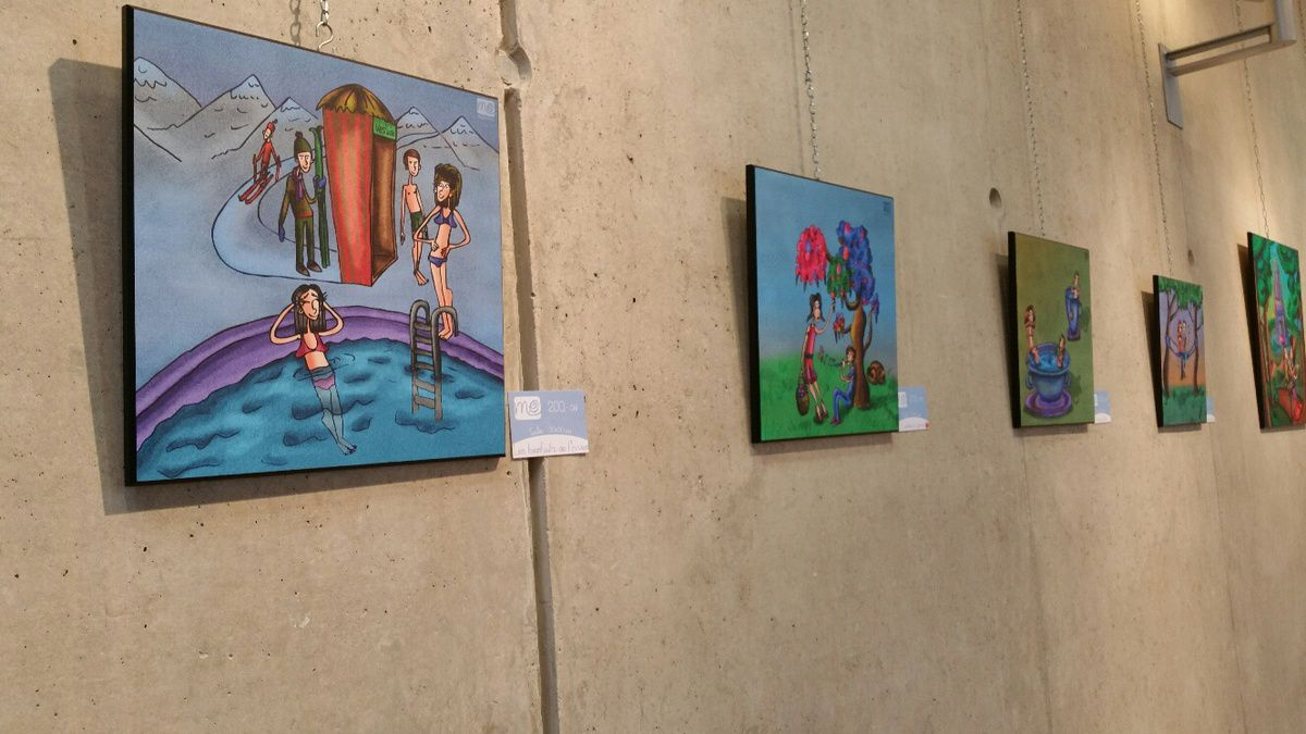 Quelques photos de l'Exposition Artgland 2015