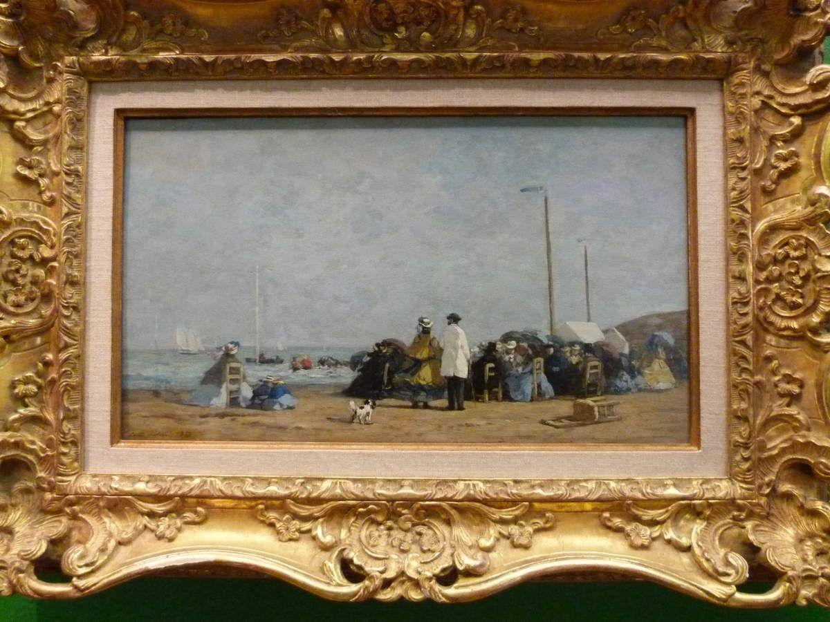 Les si célèbres plages d' Eugène Boudin