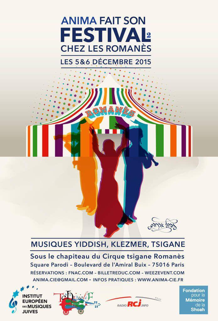 Les 5 et 6 décembre 2015 Musiques yiddish, klezmer, tsigane sous le chaleureux chapiteau du Cirque Romanès
