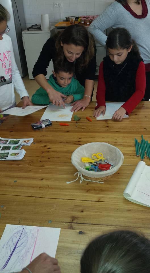 Atelier créatif d'automne   2015
