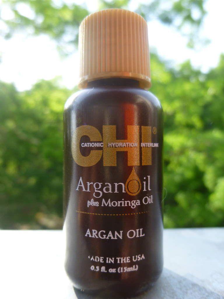 L'huile d'Argan + huile de Moringa- CHI