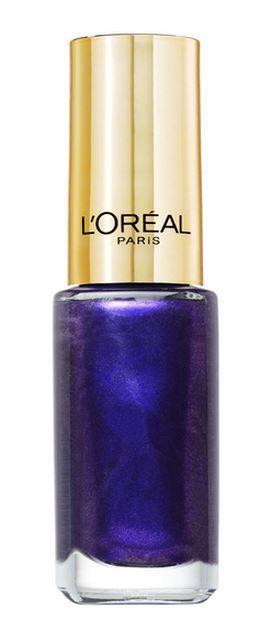le vernis Color Riche 609 Divine Indigo de l'Oréal