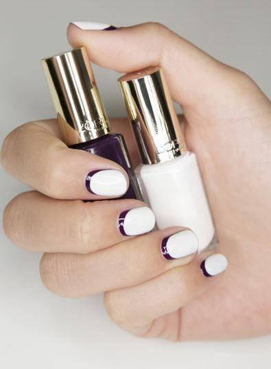 Tuto nail art: le blanc auréolé