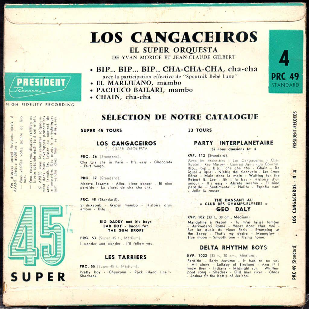los cangaceiros el super orchestra - n°4 - 1958