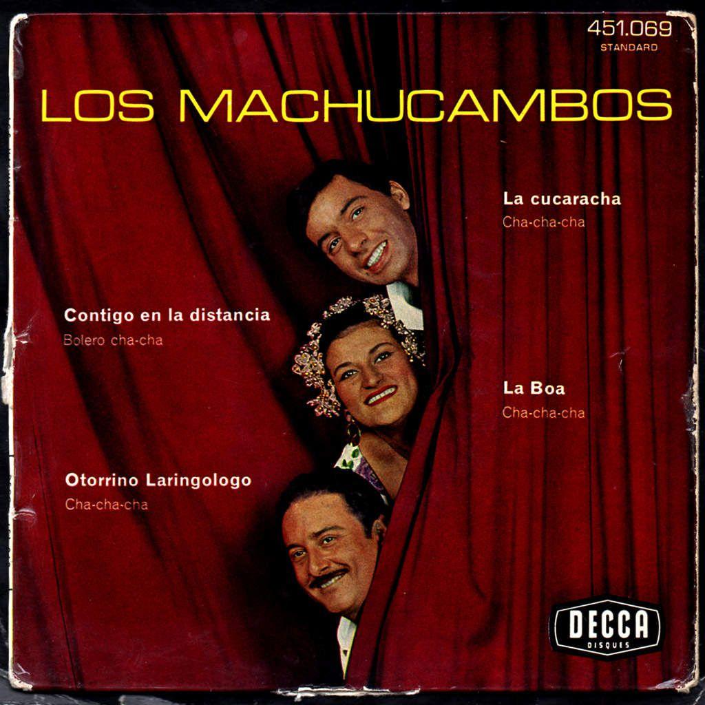 los machucambos - la cucaracha - 1961