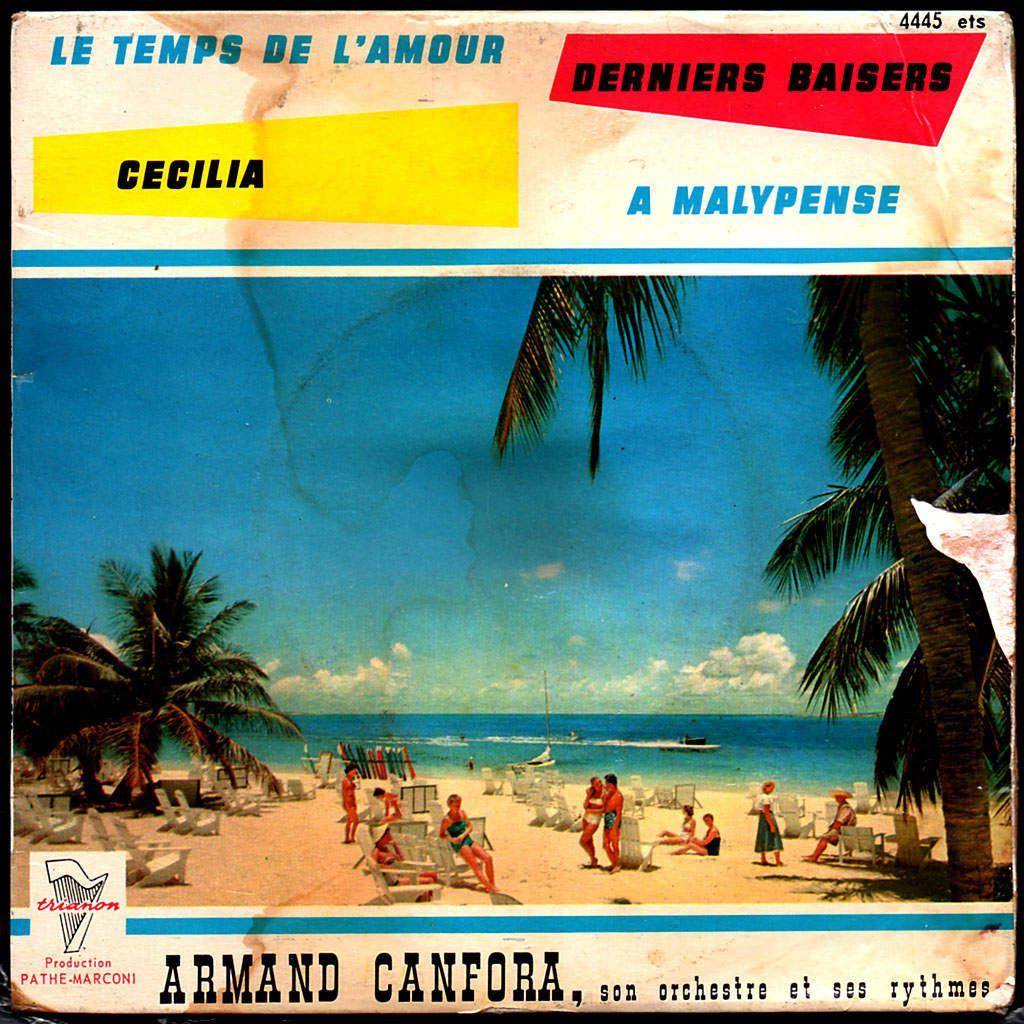 Armand Canfora son orchestre et ses rythmes - 1963