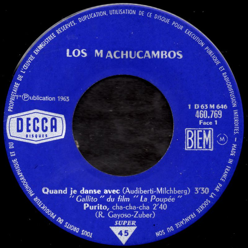 Los Machucambos - Purito - 1963
