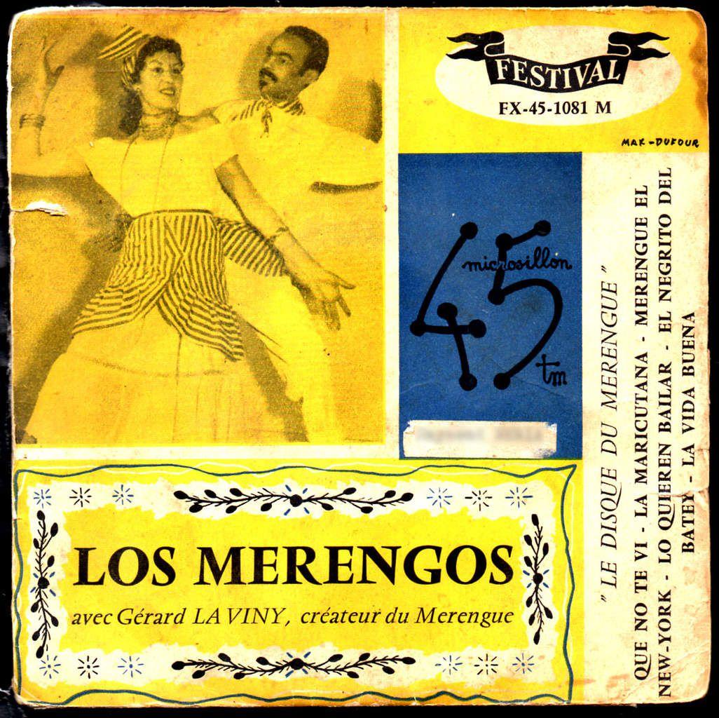 Los Merengos avec Gerard la Viny - 1957