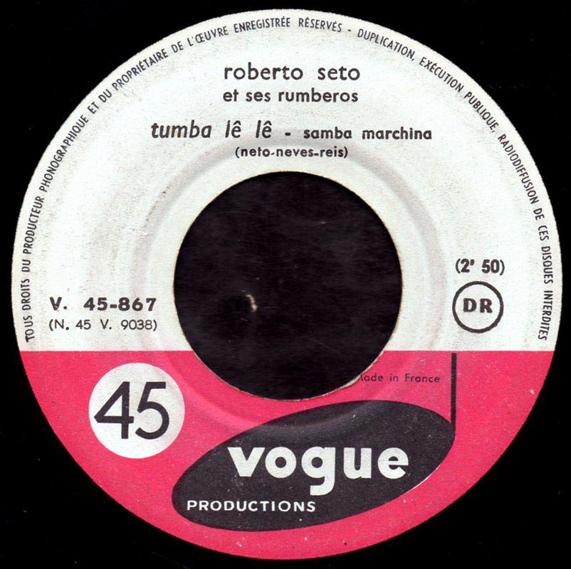 Roberto Seto et ses Rumberos - Brigitte Bardot - 1961