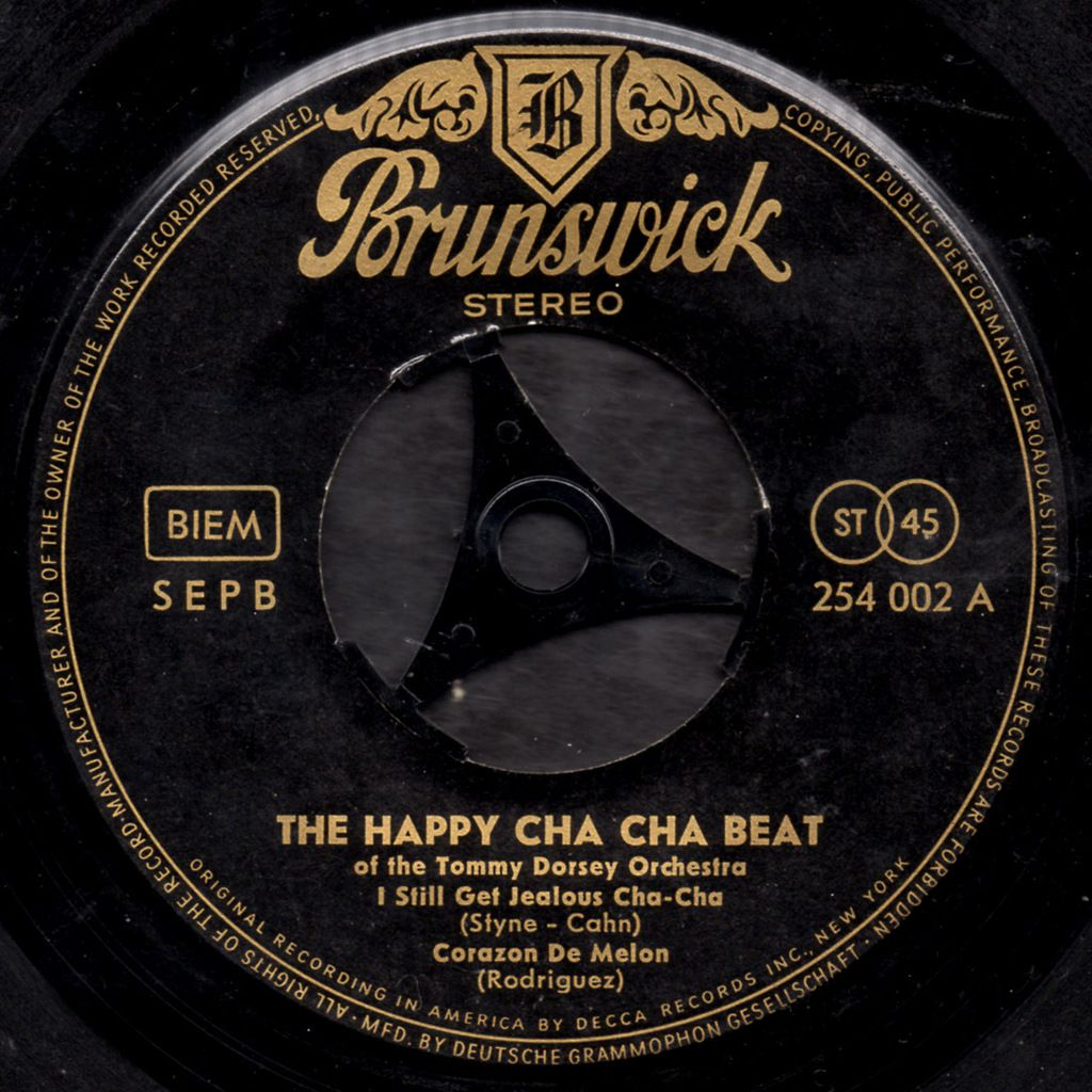 The Happy Cha-cha-Beat of the Tommy Dorsey Orchestra