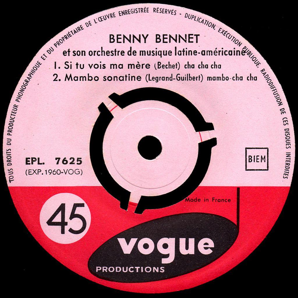 Benny Bennet et son orchestre de musiques Latine-Américaine - Vol.28