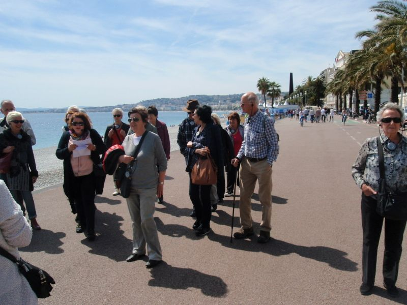 Photos : Promenade Littéraire/Literary Tour avril/April 2016