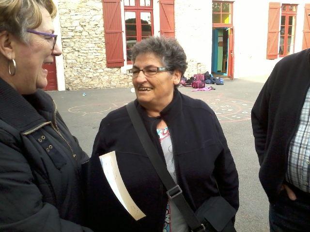 Jacqueline, Mme BECHAU.