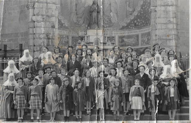 Ecole Notre Dame des Forges. Sortie à LOURDES.