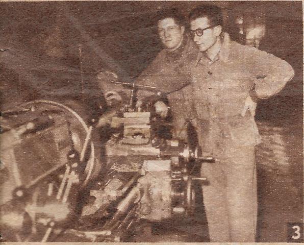 Le BOUCAU-STADE. L'équipe champion de France Excellence B 1949-1950.