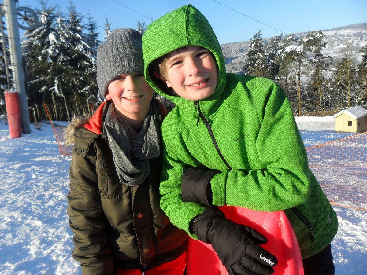 Luge à la piste de ski alpin du Monty à Lierneux (P3 P4)