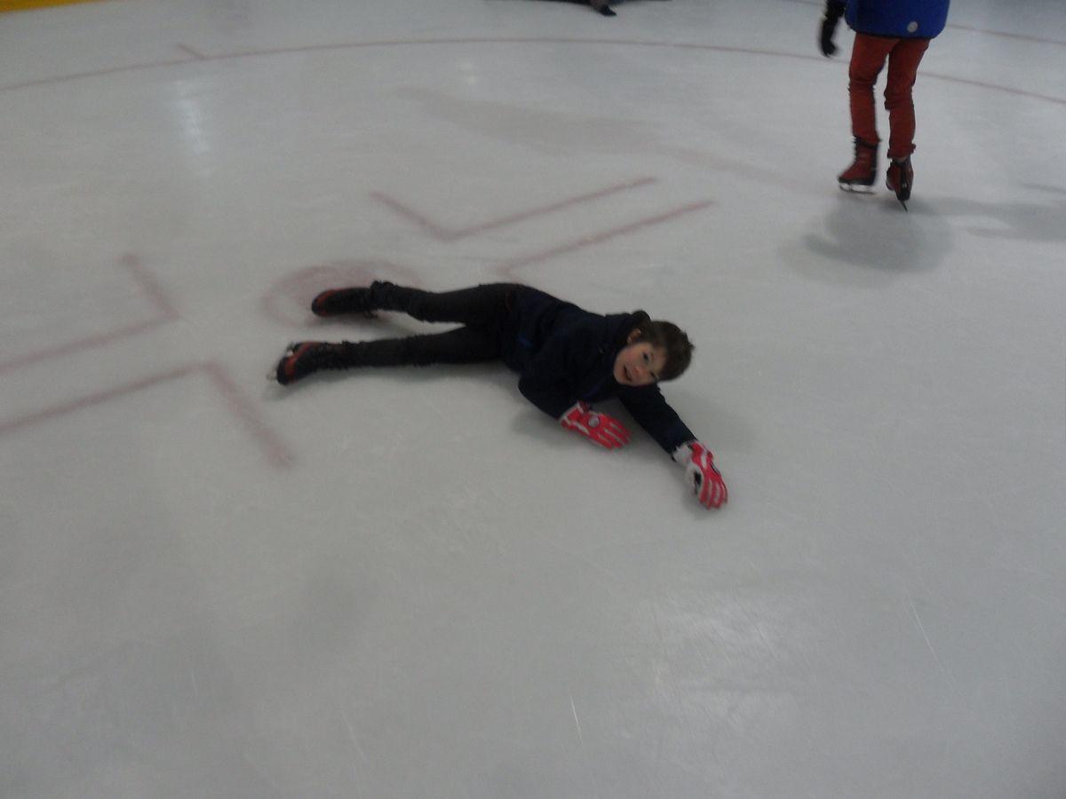 Matinée à la patinoire de la Médiacité à Liège