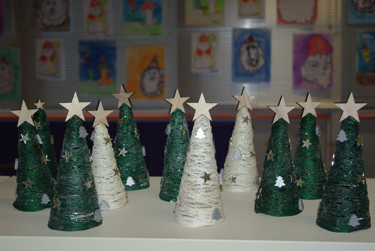 Bricolages de Noël en maternelle