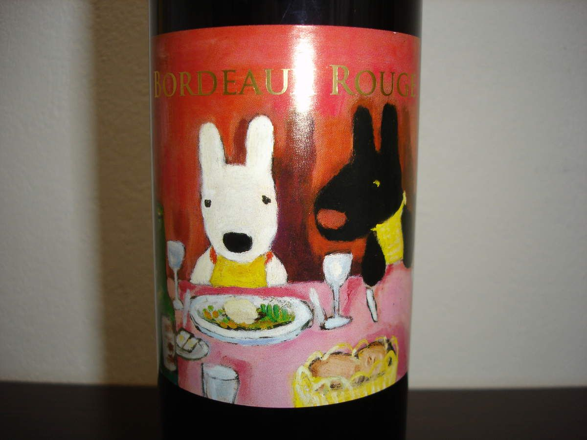 リサとガスパールのワイン Bordeaux Rouge