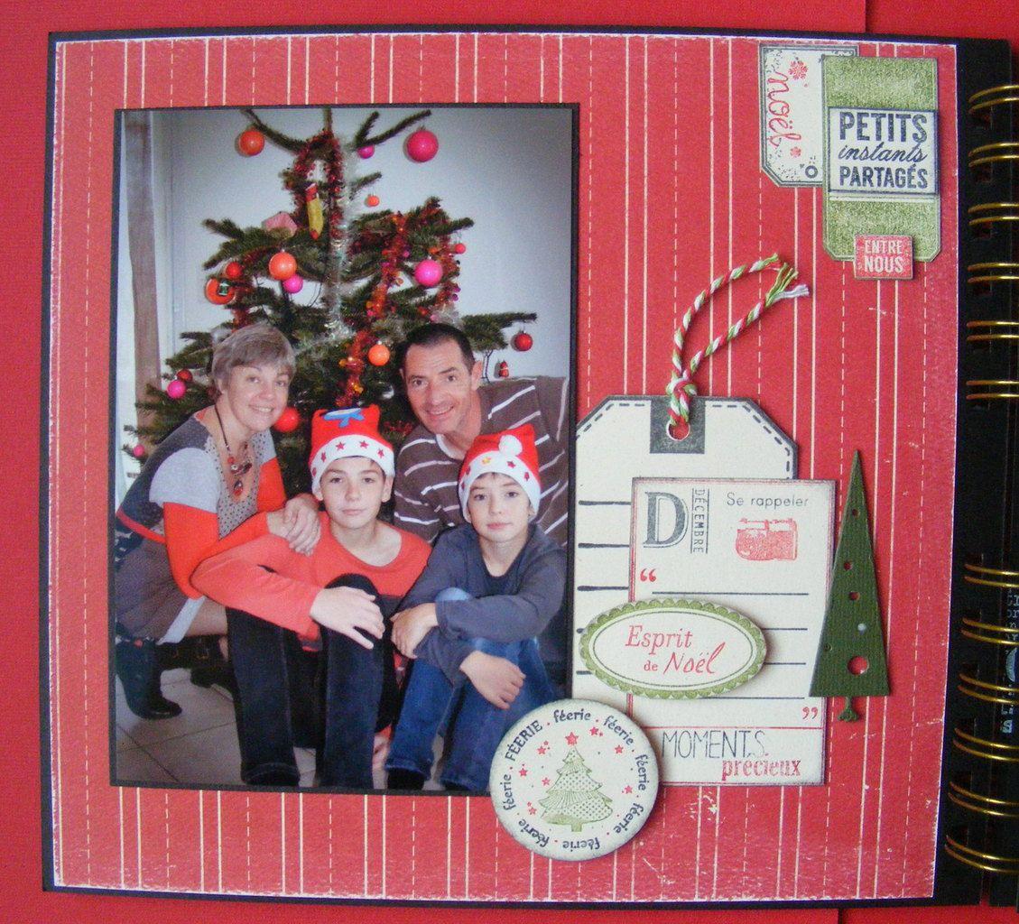 Mini album &quot&#x3B;Noël décembre 2015&quot&#x3B;