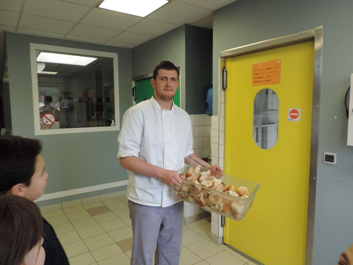 Brigade anti gaspillage alimentaire