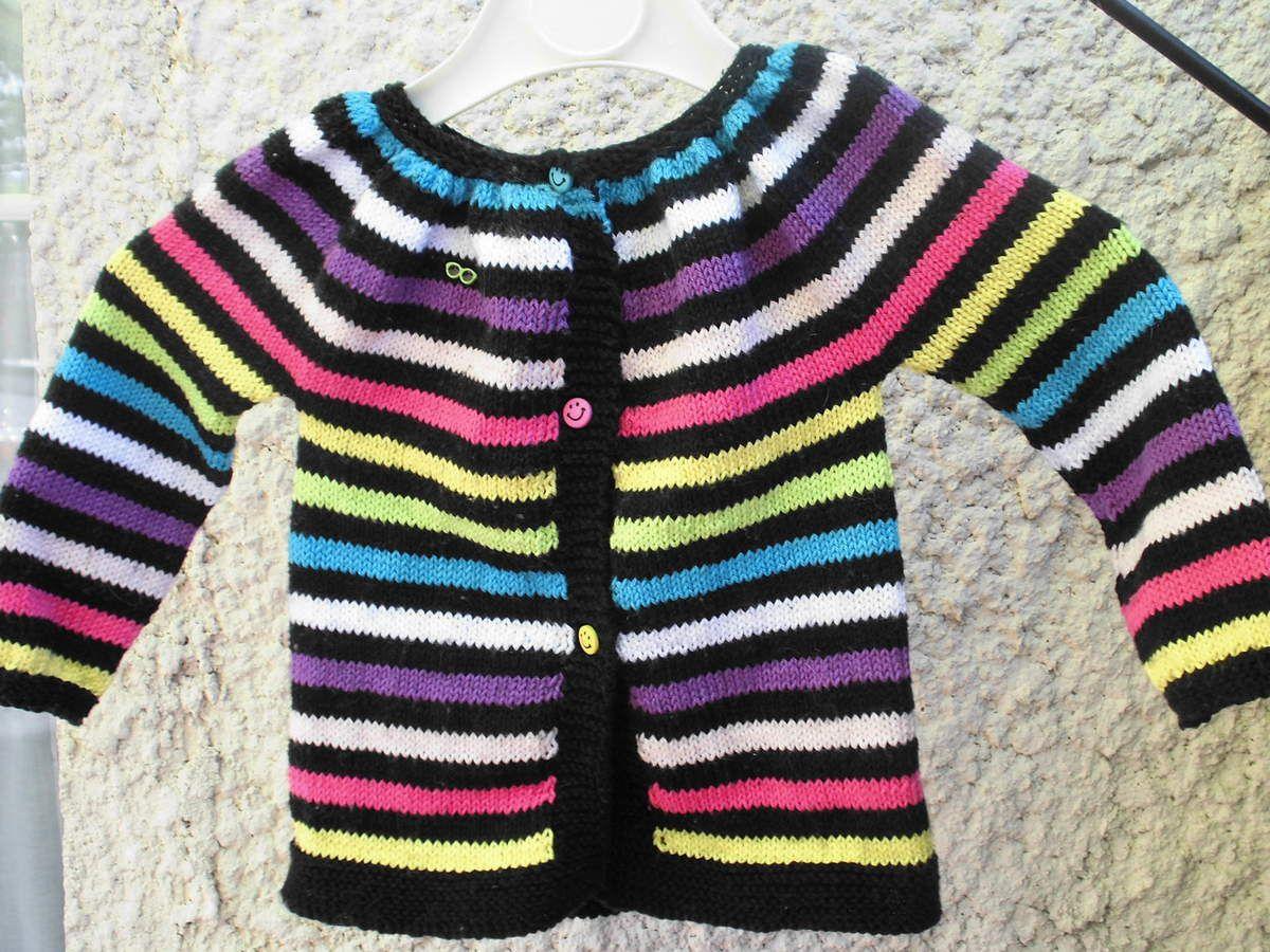 Modele KINA tricoté en Phil coton 3 de Phildar