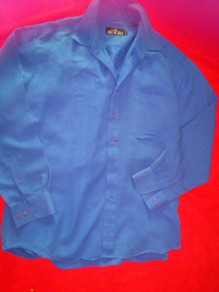 chemise homme armand thiery per l'uomo bleu