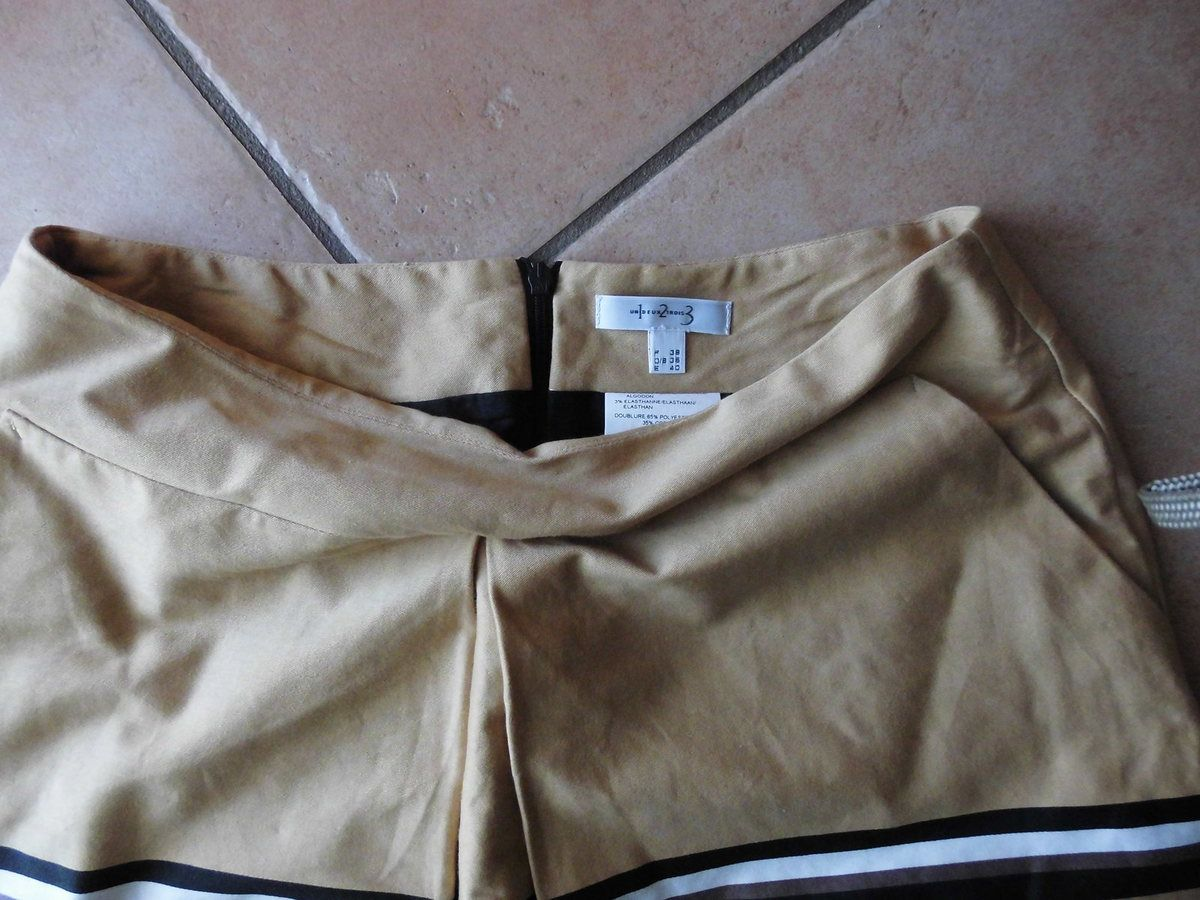 jupe marque 1.2.3 taille 38