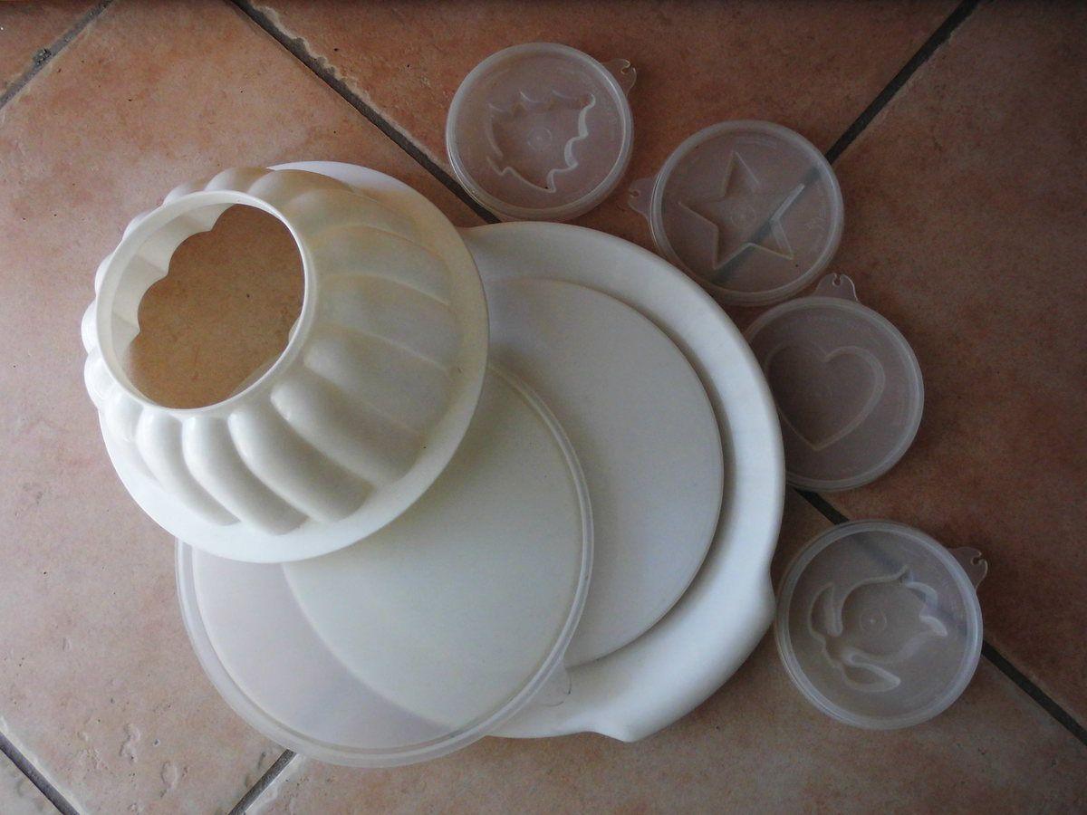 tupperware moule à charlotte vintage