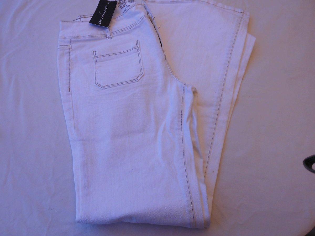 pantalon blanc neuf 42