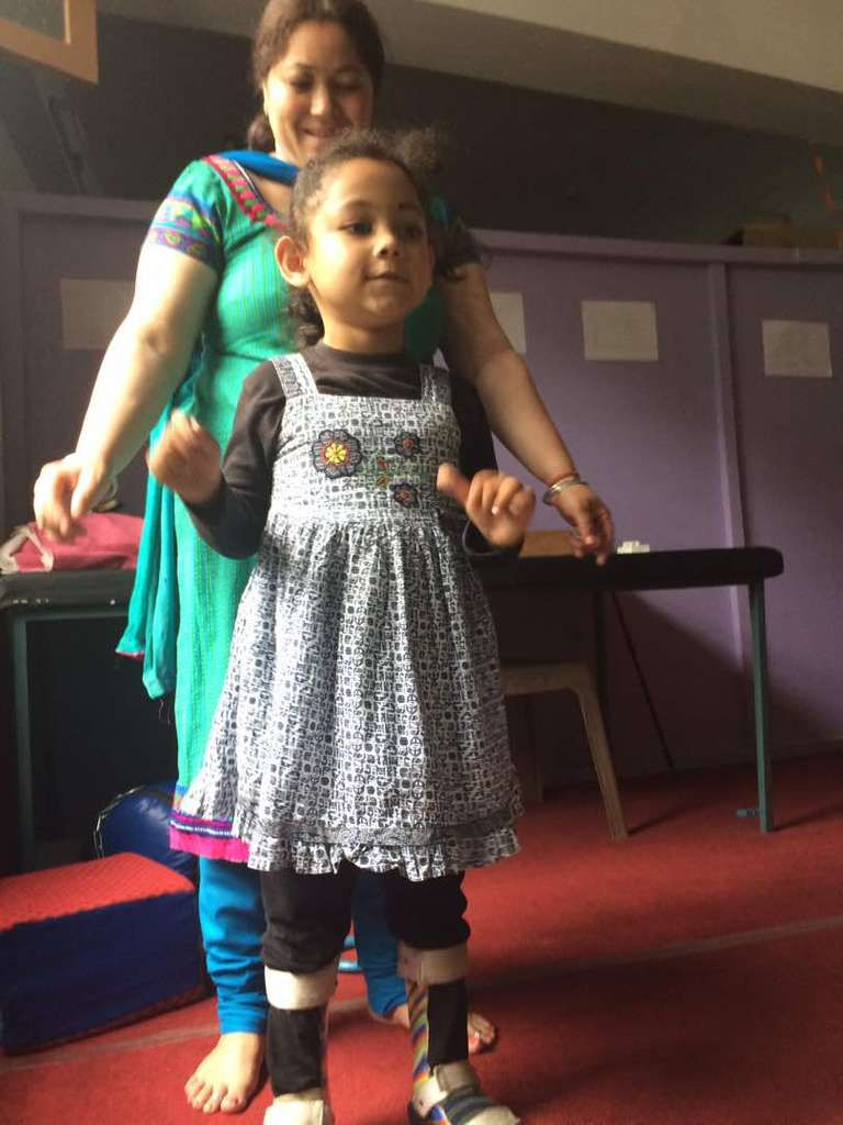 May and June 2017:  steady attendance at the Handimachal Therapy Centre