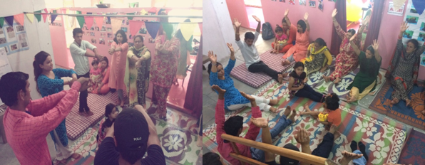 Brain gym:  workshop for parents and staff – Kullu, 22 July 2017