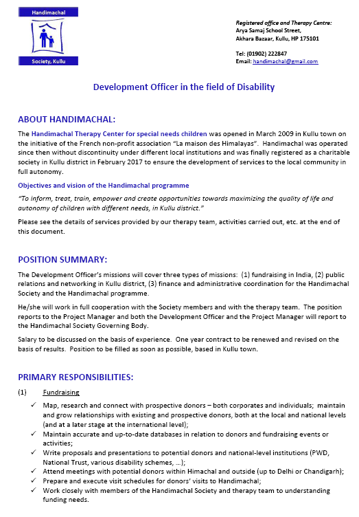 click on the image to see the job offer