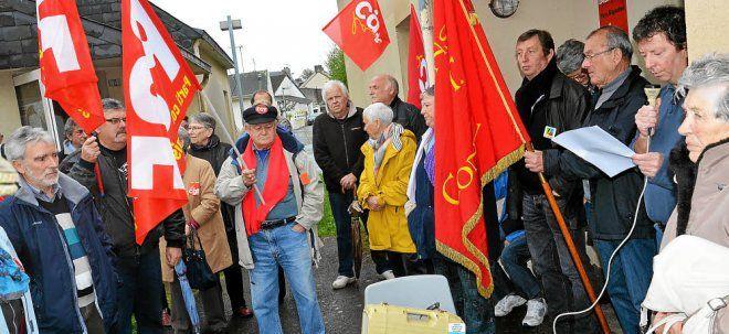 Les manifestations du 1er Mai en Finistère vues par la presse quotidienne régionale